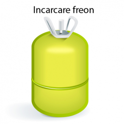 Incarcare freon, aparate aer conditionat 7000-12000 BTU